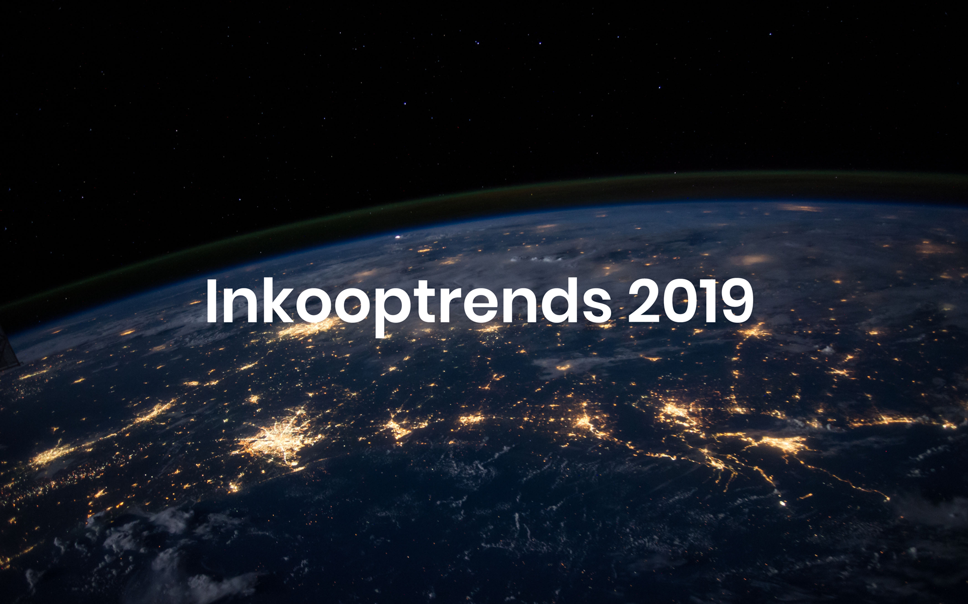 Supply Chain Inkooptrends 2019 Tradecloud